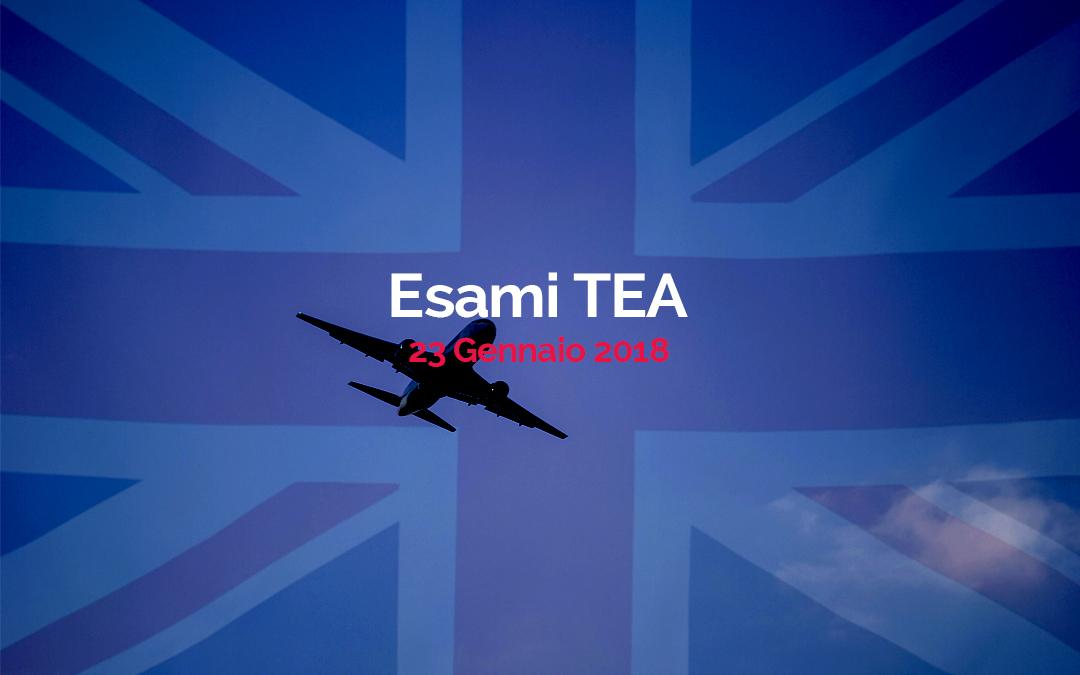 Esami TEA