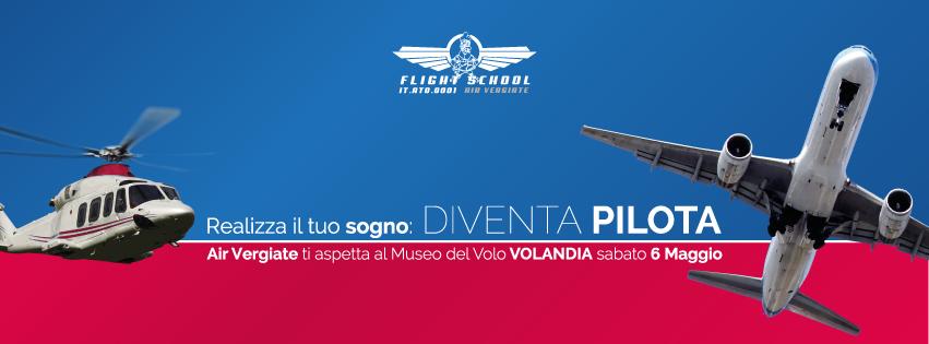 Save the date: 6 maggio a Volandia, diventa pilota con noi!