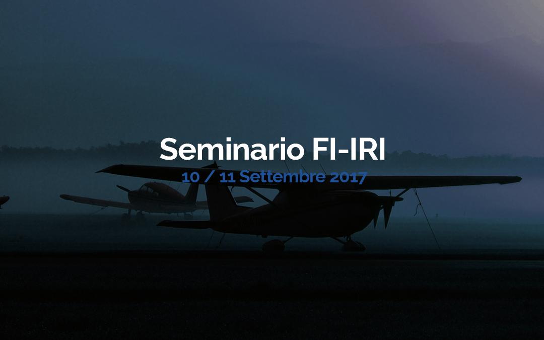 Seminario FI – IRI (A) / (H)