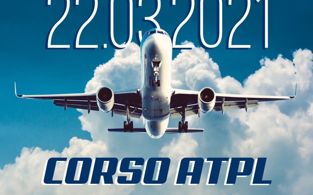CORSO ATPL AB INITIO – Fase PPL (A) 22.03.2021