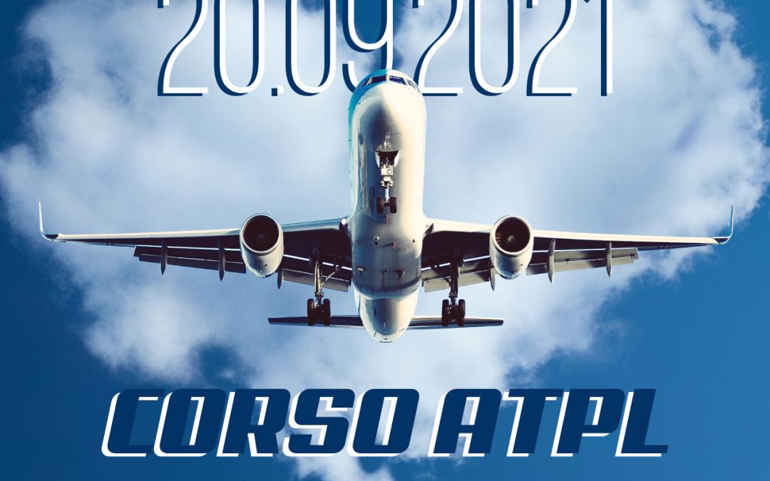 CORSO ATPL 20 settembre 2021